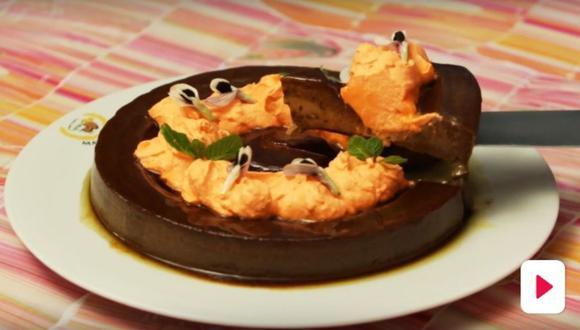 Flan de choconaranjas (Foto: Cucinare)