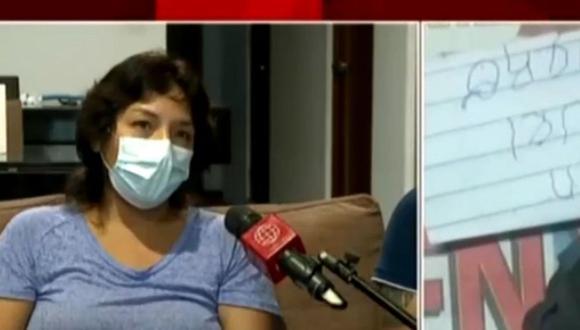 Los extorsionadores les exigen el pago de 35 mil dólares. (Captura: América Noticias)
