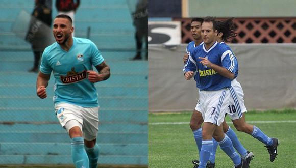 Herrera vs. Bonnet: Emanuel anotó 70 goles en tres campañas en Sporting Cristal; Luis Alberto es el tercero máximo anotador del club con 139 anotaciones. (Foto: El Comercio)