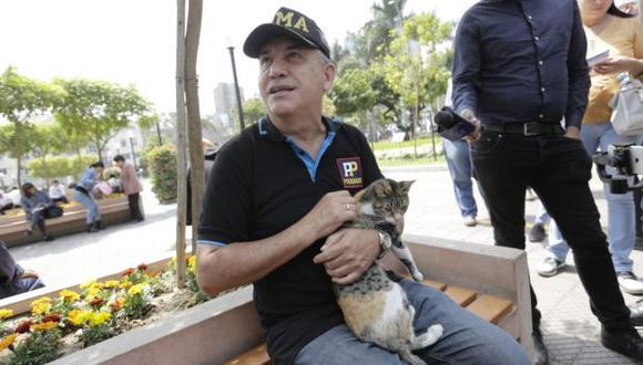 Daniel Urresti afirma que la sentencia en su contra no está consentida ni ejecutoriada. (Foto: Anthony Niño de Guzmán / El Comercio)
