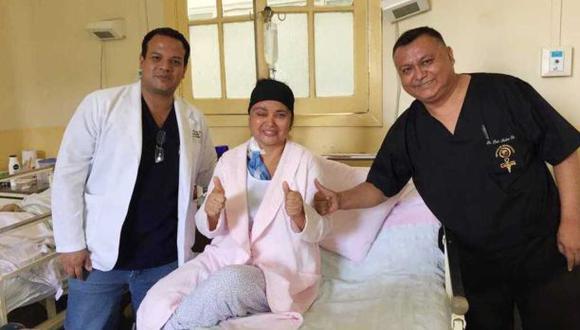La paciente ya se encuentra de alta. (Foto: Difusión)