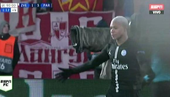 PSG y el cuarto gol de la jornada ante el Estrella Roja gracias a Kylian Mbappé por la Champions League. (Video: ESPN)