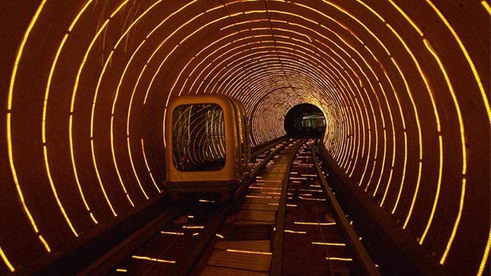 Curioso paseo: Este túnel es una popular atracción china - 3