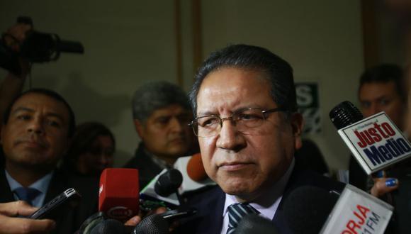 Pablo Sánchez (Foto: El Comercio)