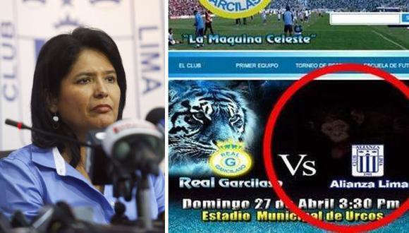 Alianza Lima denunciará al Real Garcilaso por imagen racista
