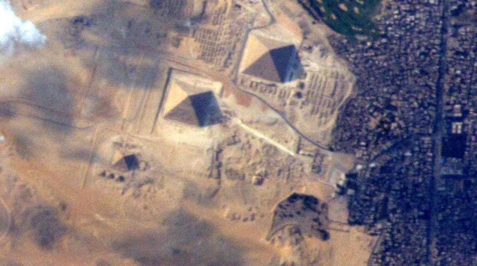 ¿Imaginas poder ver las Pirámides de Egipto desde el espacio? - 1