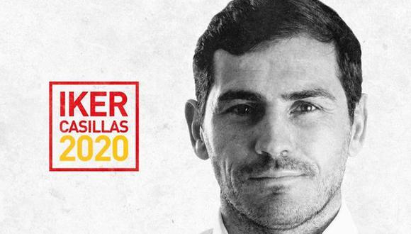 Iker Casillas postula a la Presidencia de la RFEF. (Foto: Difusión)