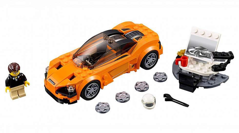 Es para niños, pero lo queremos todos: McLaren 720S en Lego - 3