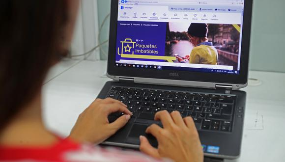 El comercio electrónico se configura como una opción segura ante el avance del coronavirus. (Foto: GEC)