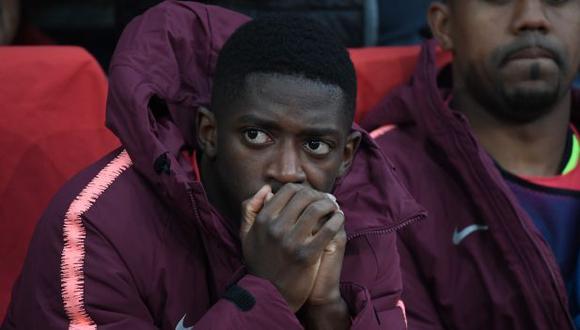 Ousmane Dembélé ha participado en apenas 9 partidos del FC Barcelona en la temporada 2019-20. (Foto: AFP)