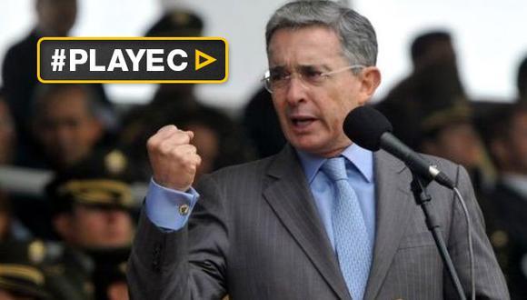 """Álvaro Uribe: """"Es hora de remover la tiranía de Venezuela"""""""