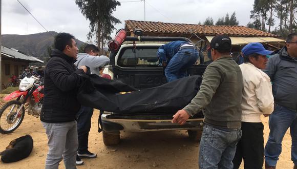 Entre los fallecidos se encuentra un menor de 14 años e integrante de las rondas campesinas. (Foto cortesía: Antena Norte Huamachuco)