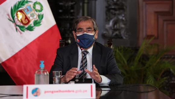 El ministro de Salud señaló que a más tardar mañana se publicará la resolución que oficializa la nueva metodología. REUTERS/Sebastian Castaneda