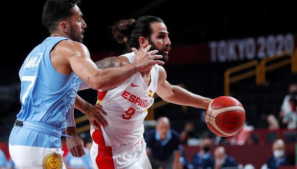 Argentina enfrentó a España por la segunda jornada de los Juegos Olímpicos
