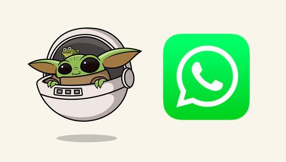 ¿Quieres tener los stickers de 'Baby Yoda' en WhatsApp? Entonces esto es lo que debes hacer. (Foto: Captura)