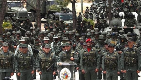 """Venezuela despliega tropas en búsqueda de """"mercenarios"""" tras ataque frustrado por mar en La Guaira. (Foto: EFE / MINCI)."""