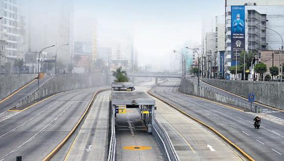 Hoy y mañana 25 de diciembre no circularán vehículos particulares por la Vía Expresa, Vía Expresa Javier Prado, Costa Verde y Cerro Centinela. (Foto: Jesús Saucedo)