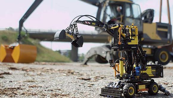 Lego lanzó nueva excavadora de Volvo a escala [VIDEO]