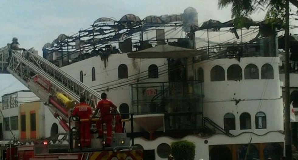 Imágenes del incendio que generó alarma en San Isidro - 10