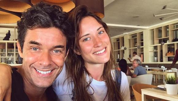 Mariano Martínez espera su tercer hijo con joven modelo