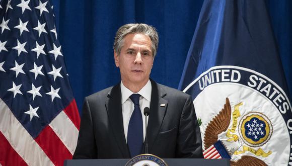 El secretario de Estado de Estados Unidos, Antony Blinken. AP