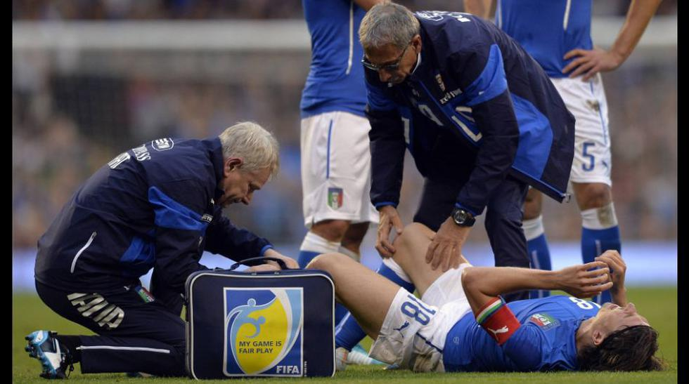 Italia: Montolivo se fracturó la tibia y se perderá el Mundial - 8