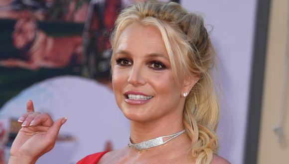 Britney Spears cautiva a sus fans tatuada con henna y en ropa de baño de animal print. (Foto: AFP/Valerie Macon)