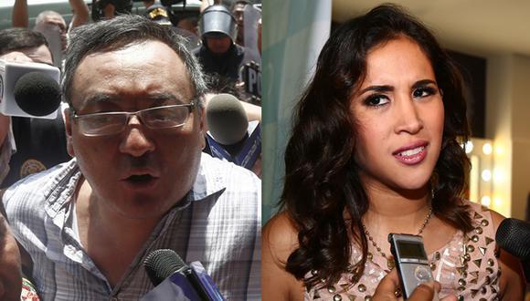 Melissa Paredes dice que jamás visitará a su suegro en prisión