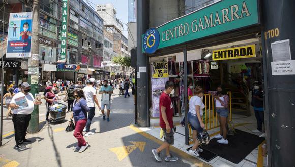 Los comercios de Gamarra podrán contar con tienda virtual, toma y carga de fotos, marketing y delivery a través de un nuevo emprendimiento. (Foto: Eduardo Cavero / GEC)