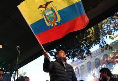 Elecciones Ecuador 2021: Arauz se anticipa a los resultados y se presenta como ganador en el balotaje