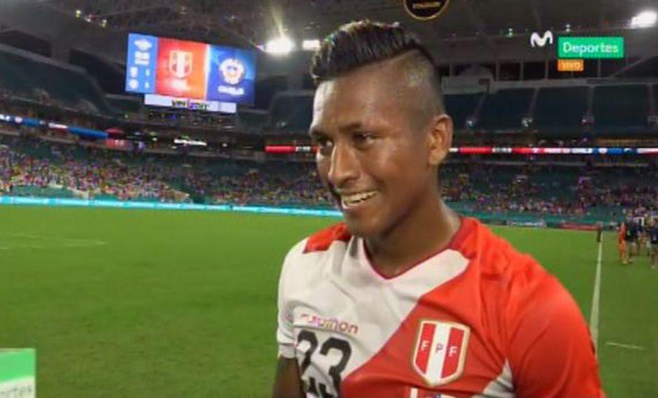 Perú vs. Chile: Pedro Aquino comentó sobre la lucha por el titularato con Renato Tapia   VIDEO (Foto: Captura de video)