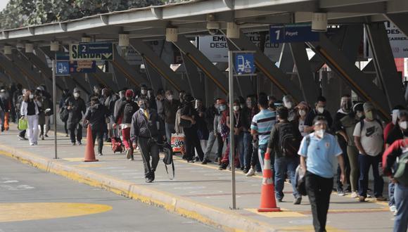 Las empresas concesionarias indicaron que este martes quedaría suspendido el servicio de Metropolitano. (Foto: Anthony Niño de Guzmán / @photo.gec)