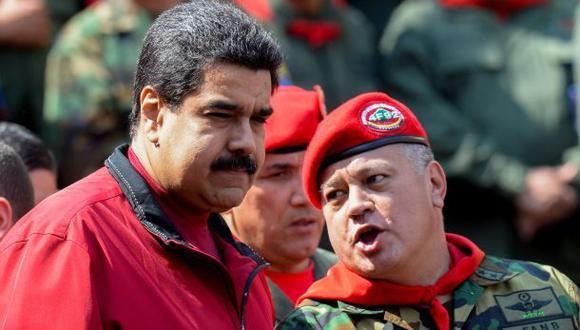 Diosdado Cabello descarta la renuncia de Nicolás Maduro