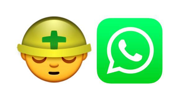 ¿Te has dado cuenta por qué el emoji del obrero aparece cansado en WhatsApp? (Foto: Emojipedia)