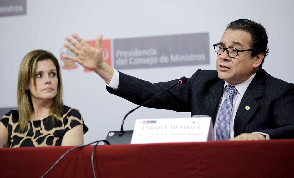 El Minjus, dirigido por Enrique Mendoza, también indicó que está trabajando en la estrategia legal del Estado peruano ante la Corte IDH. (Foto: PCM)