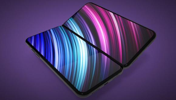 Así luciría el iPhone plegable equipado con dos pantallas según un reporte publicado por el youtuber Jon Prosser. (Captura de pantalla)