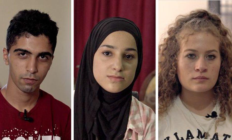 Cada año, Israel arresta a unos 500 menores de edad como Husam Abu Khalifa, Malak Al-Ghalit y Ahed Tamimi. Foto: BBC Mundo
