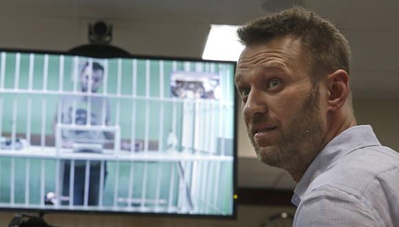 Alexei Navalny, líder opositor de 44 años. (Foto: EFE))