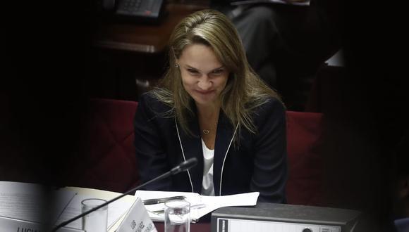 Luciana León enfrenta una investigación por el Caso Los Intocables Ediles. (Foto: César Campos/ GEC)