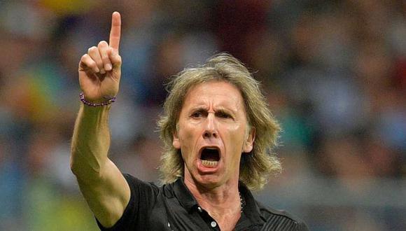 Ricardo Gareca, técnico argentino de la selección peruana
