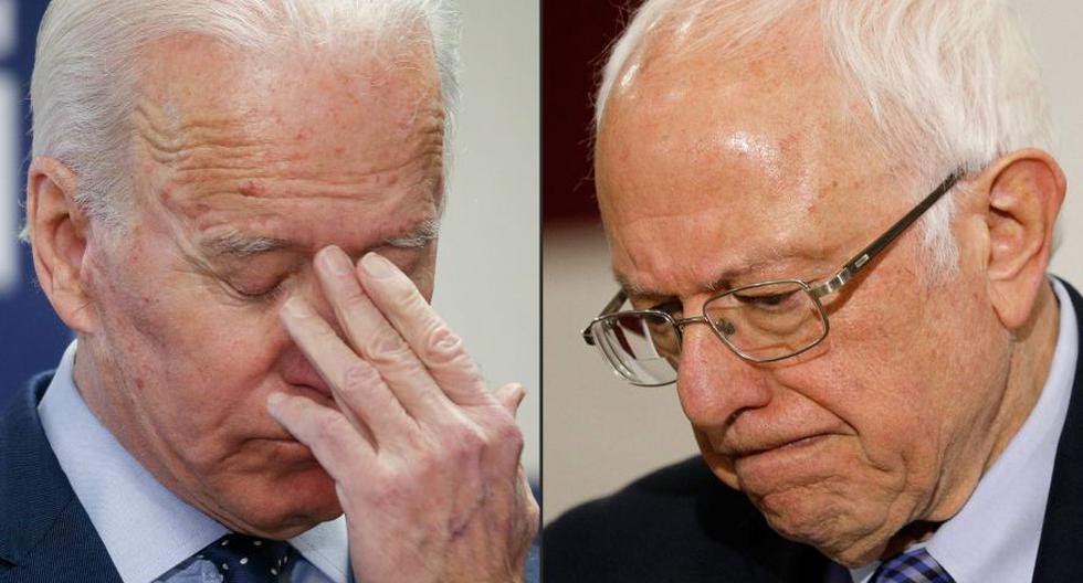 Joe Biden y Bernie Sanders cancelaron mitines en Ohio. (Foto: Archivo/AFP).