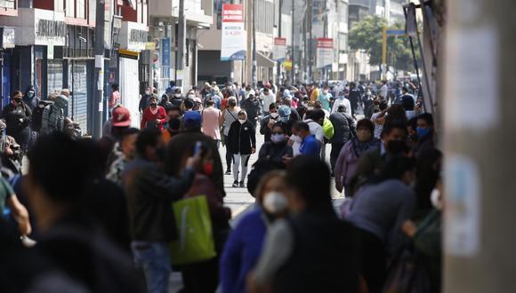 Cercado de Lima registró un incremento de unos 800 casos nuevos de COVID-19 en la última semana. (Foto: Violeta Ayasta/GEC)