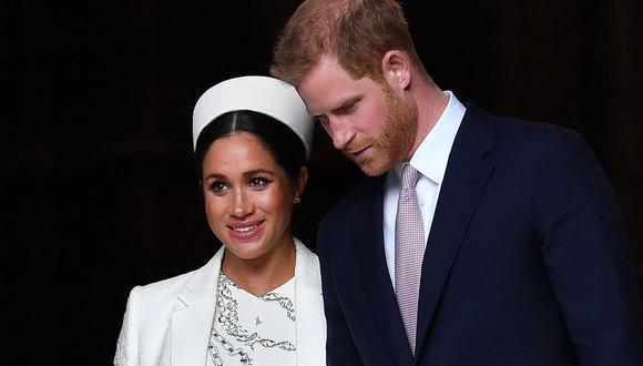 Los duques de Sussex Harry (derecha) y Meghan han retumbado los cimientos de la realeza británica con su entrevista con Oprah Winfrey. (Foto: Ben Stansall/ AFP)