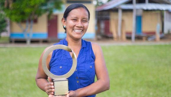 Liz Chicaje empezó su lucha contra la deforestación de la Amazonía peruana a los 16 años. (Foto: Ministerio de Cultura)