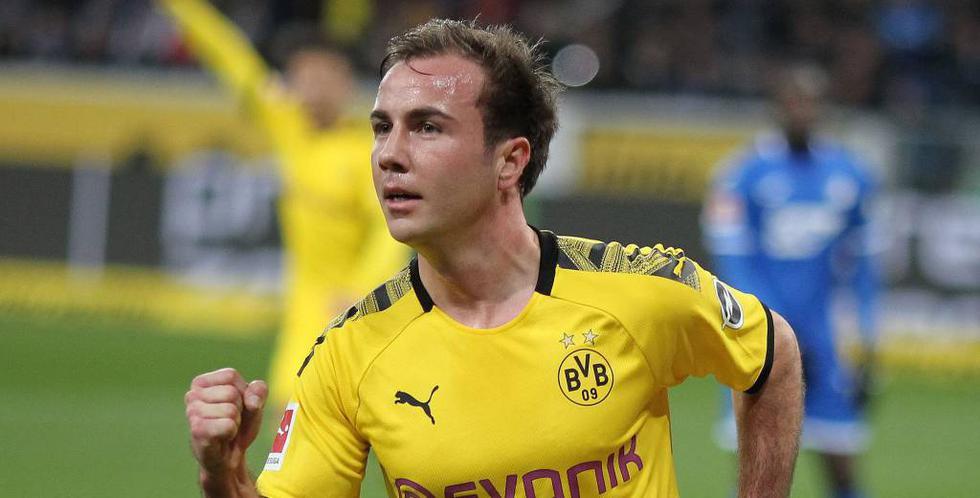 Mario Götze fue la sensación del Borussia Dortmund en sus inicios, pero en el 2013 fichó por el Bayern Múnich. Regresó a los negriamarillos en 2016/17 y un trastorno metabólico casi le retira del fútbol. Aún no recupera protagonismo. (Foto: AFP)