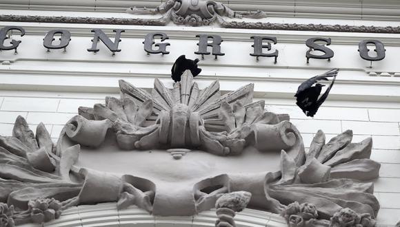 El pedido para desclasificar la documentación de la Comisión Lava Jato del anterior Congreso fue hecho por el vocero alterno de Acción Popular, Ricardo Burga.  (Foto: GEC)