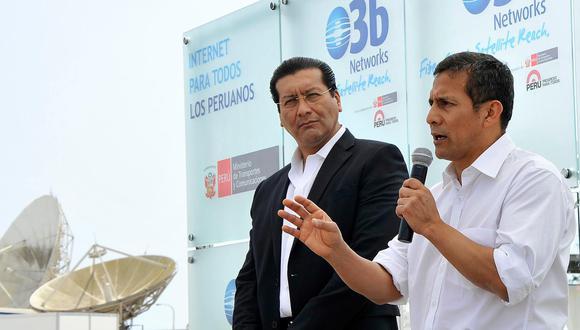 Ollanta Humala no es investigado por el caso del 'club' porque aún tiene la protección del antejuicio. El exministro Paredes (izq.) afronta una pesquisa por los presuntos delitos de colusión, asociación ilícita para delinquir y cohecho pasivo propio. (Foto: El Comercio)