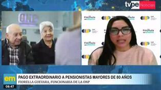 ONP: pensionistas mayores de 80 años recibirán bono extraordinario en julio