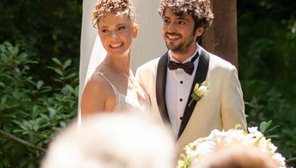 Taner Ölmez y Ece Çesmioglu se casaron en una ceremonia íntima en la ciudad de Estambul, Turquía, donde ambos nacieron (Foto: Taner Ölmez/Instagram)