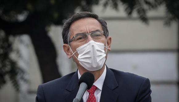 Martín Vizcarra, presidente de la República. (Foto: Anthony Niño de Guzmán | GEC)